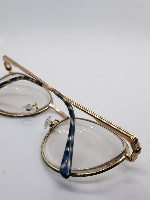 48a2cdf100e Vintage Gucci Gold Eyeglasses Frames Mod GG 2284 RX LENSES