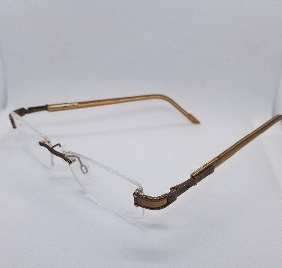 New Old Stock Cazal Rimless Gold Eyeglasses Frames Mod 478 | Etsy