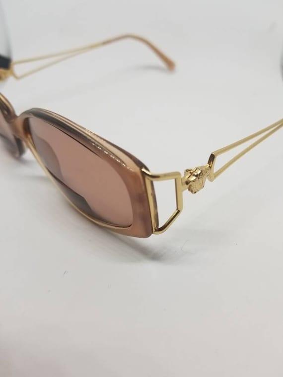 Vintage Versace Gold tone Sunglasses Eyeglasses Frames Mod.   Etsy