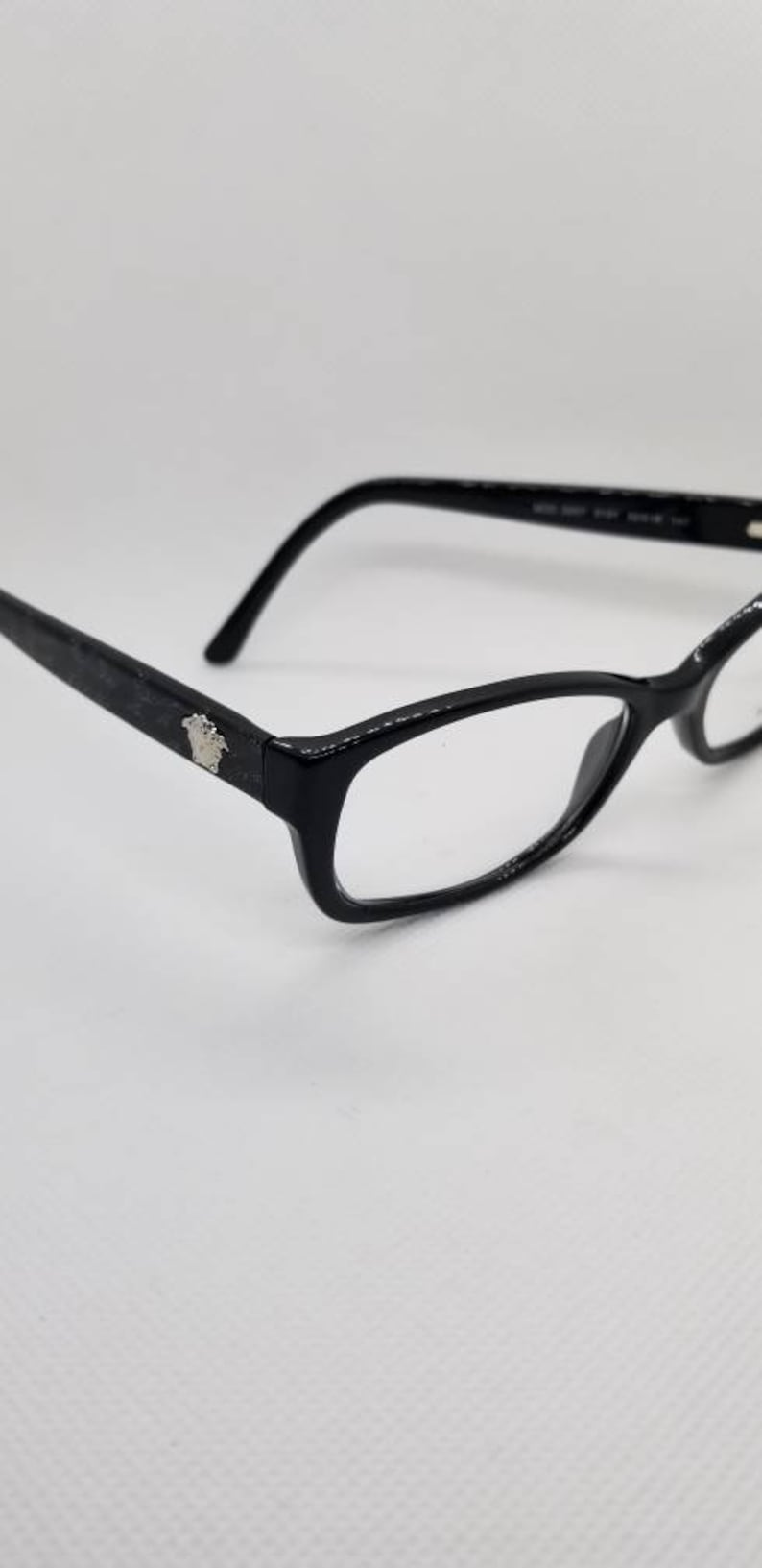 6097bb5ec1b1c Vintage New Old Stock Versace Eyeglasses Frames Mod 3207 DEMO