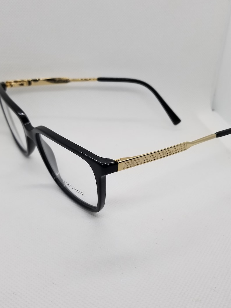 1282c0afd05 Vintage New Old Stock Versace Gold Eyeglasses Frames Mod 3209