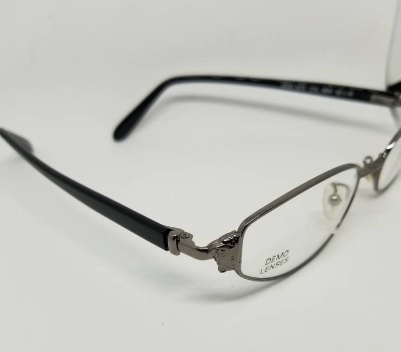 9c6c44da169 Vintage New Old Stock Versace Black Eyeglasses Frames Mod. M72