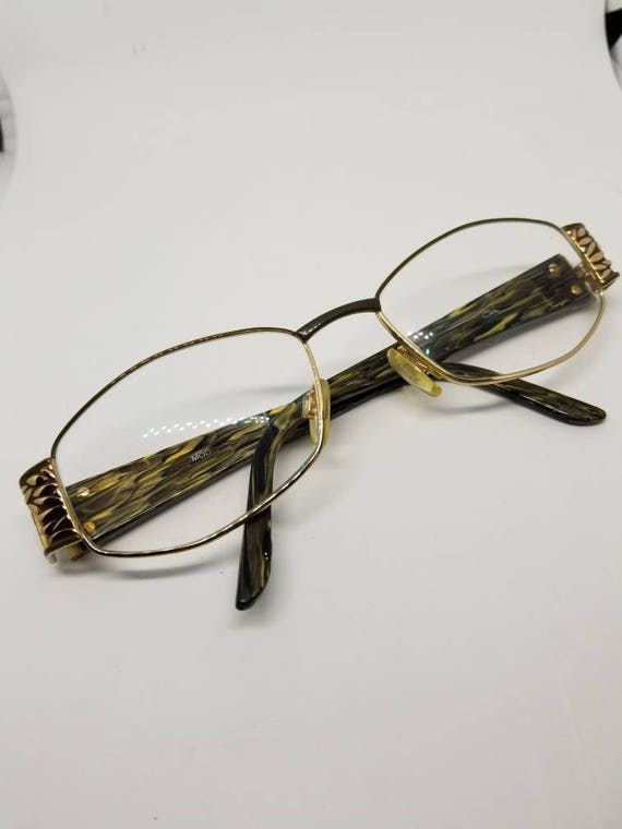1e9c5ad19b Vintage Cazal Eyeglasses Frames with Beautiful Arms and Gold