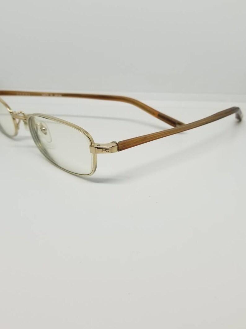 91a46db77ce3 Vintage Gucci Gold Eyeglasses Frames Mod GG 9505J RX LENSES | Etsy
