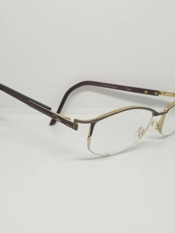 de4ac9d731 Vintage Cazal Semi Rimless Eyeglasses Frames RX LENSES