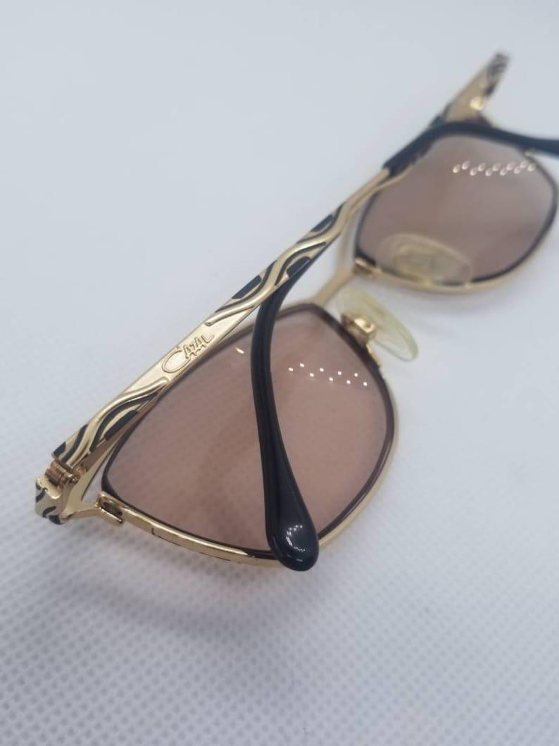 224287958cf Vintage Cazal Gold Eyeglasses frames Mod 118 RX LENSES