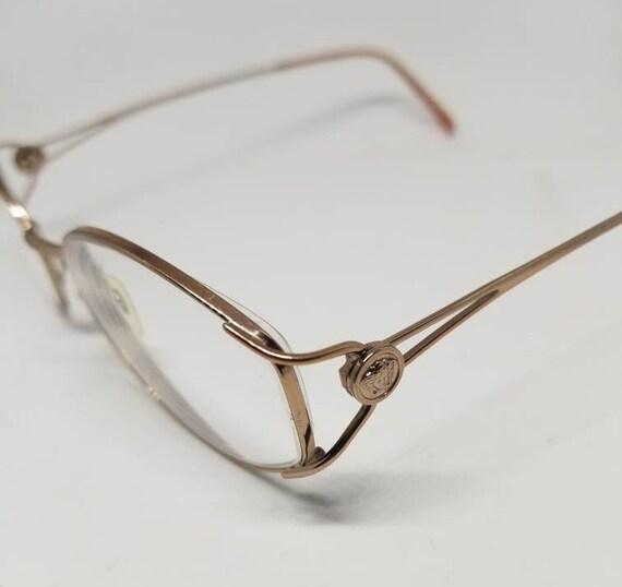 7c20af3787e Vintage Versace Rose Gold Eyeglasses Frames Mod. 1035 RX