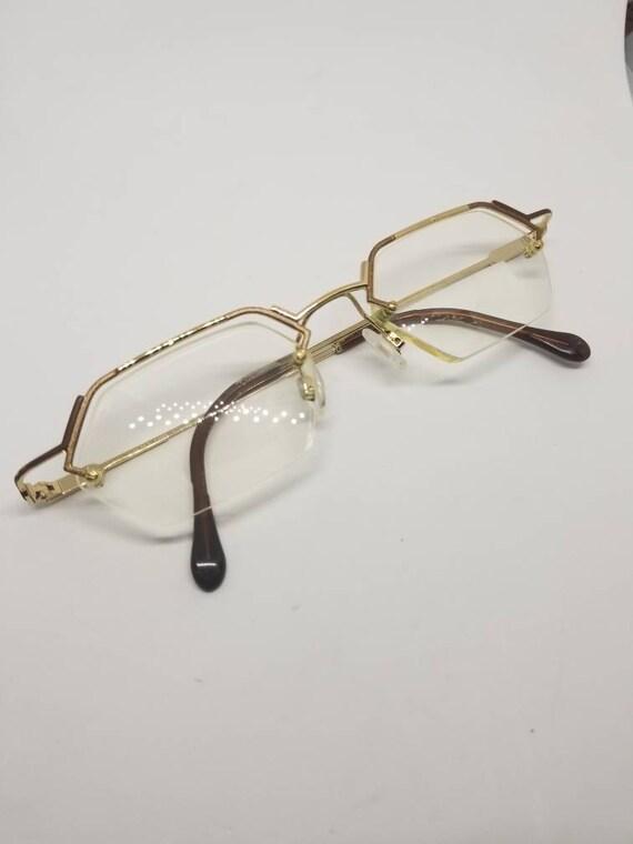 03ea3f80084 Vintage Cazal Gold Eyeglasses Frames Mod.786 RX LENSES