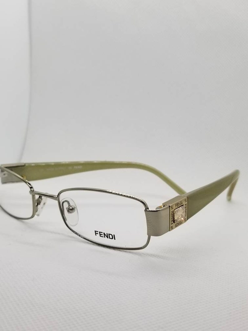 3a0598459c85 Vintage New Old Stock Fendi Eyeglasses Frames Mod F895R