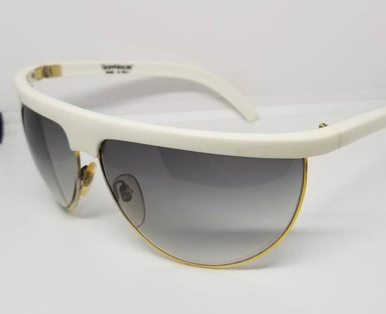 f782722af898 RARE Vintage Gianni Versace Perspectives Wrap Around
