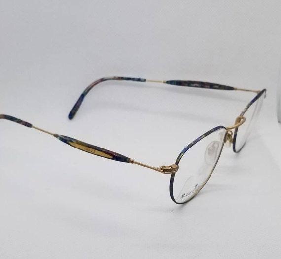d4354f108dc Vintage New Old Stock Gucci Gold Eyeglasses Frames Mod GG 1341
