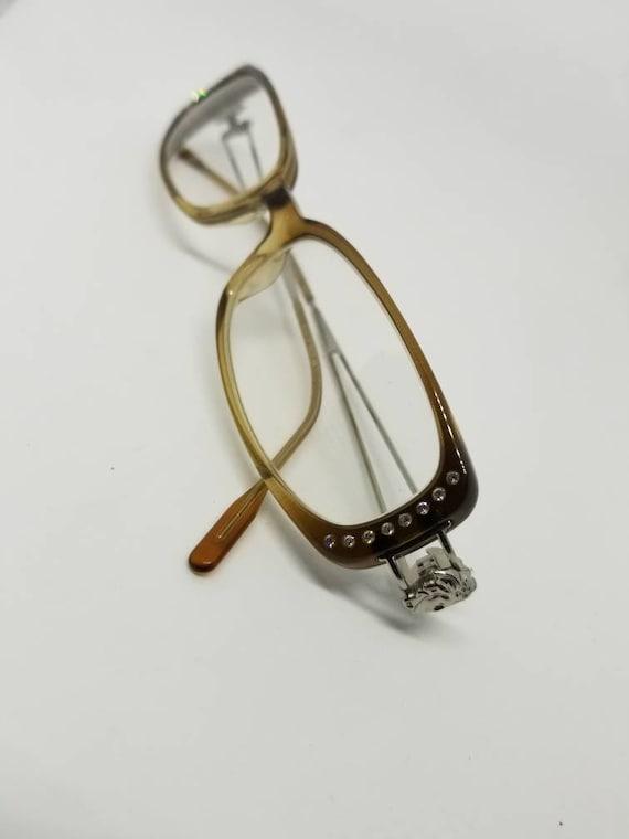 1d7504a793 Versace Vintage lunettes cadres Mod.V05-H G33 RX lentilles | Etsy