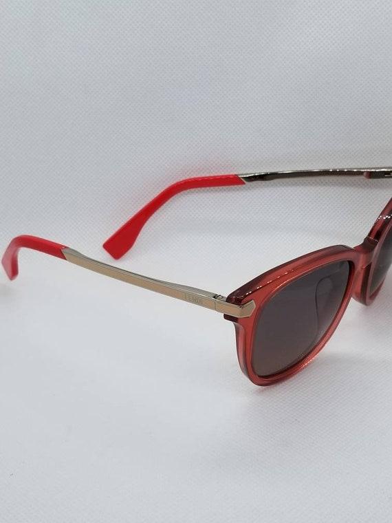 b15bea4d75bc Fendi Red Pink Sunglasses Mod FF 0021
