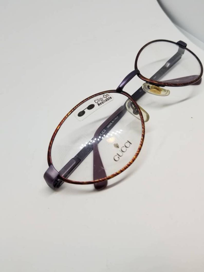 878f9b3e4b43 Vintage Gucci Eyeglasses Frames Mod GG 2283 DEMO LENSES | Etsy