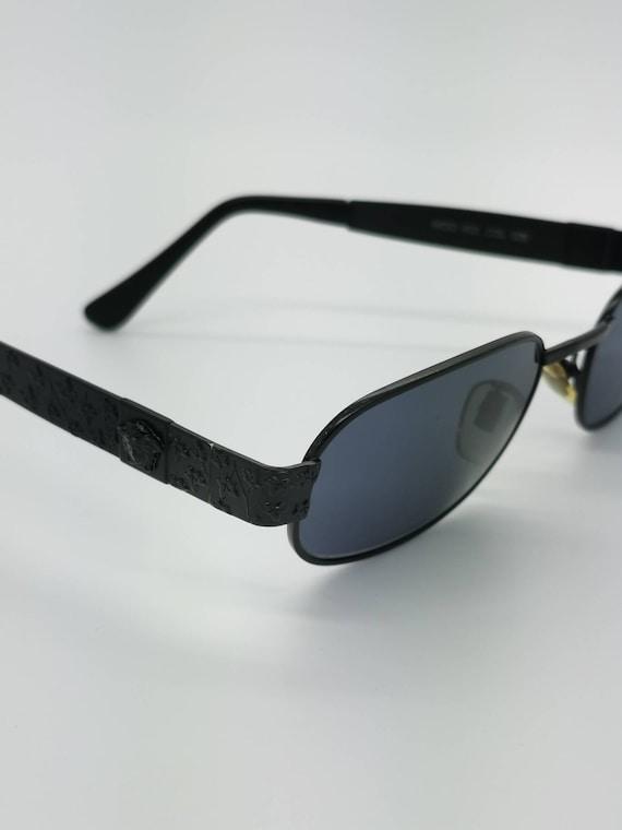 Vintage Gianni Versace Black Sunglasses Mod X03