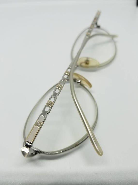 bd0c5f3e90cd Vintage Fendi Eyeglasses Frames Mod F526 Palladium RX LENSES