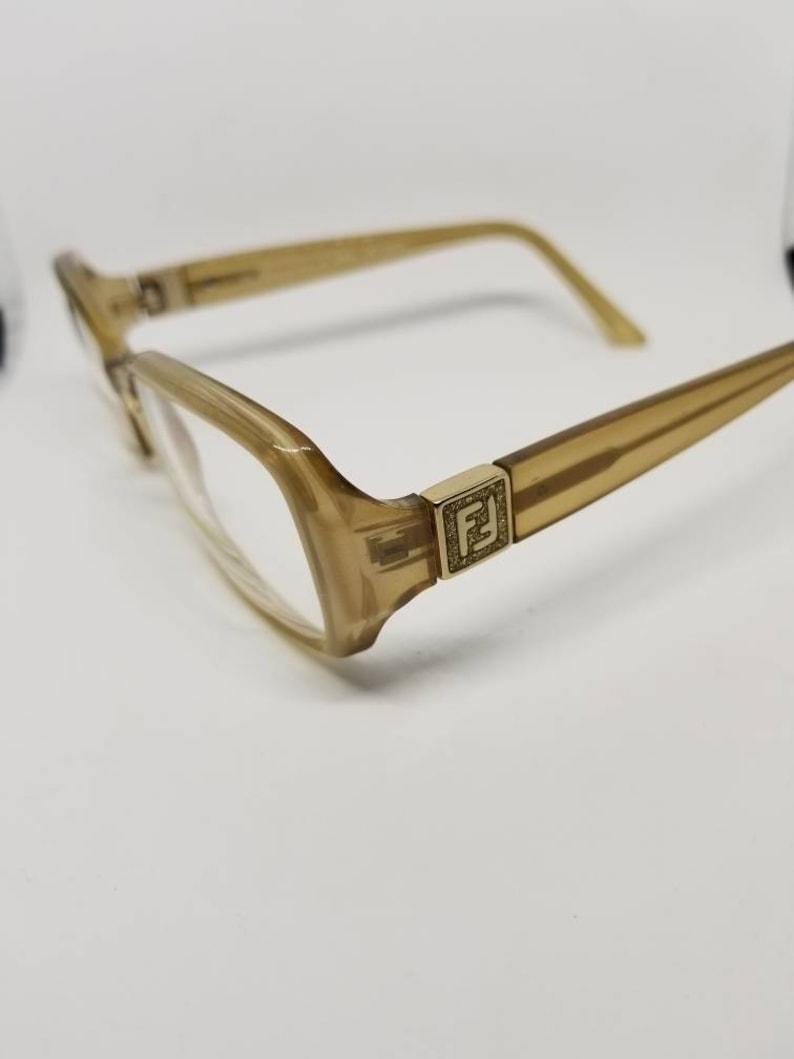 c84dd964976 Vintage Fendi Clear Eyeglasses Frames Mod.F833 RX LENSES