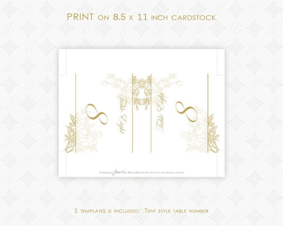 wedding printable table number download tent style diy etsy