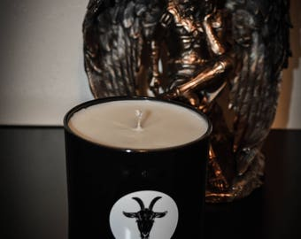 Frankincense and Myrrh Scented Soy Candle 10oz.