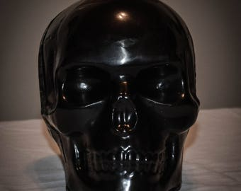 Black Paraffin 3LB. Skull Candle