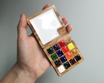 Portable Sketchbook Palette (without colors)