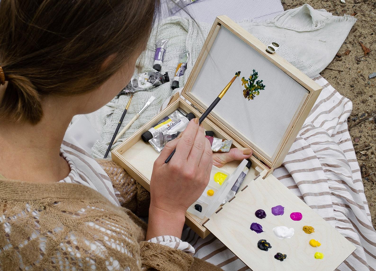 Современная модель палечного этюдника умельцев из России: GoDrawStore (Юлия Миронова)
