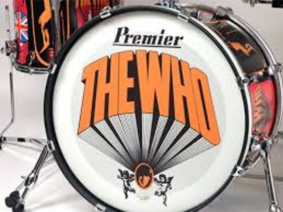The Who Keith Moon Drum Kit T