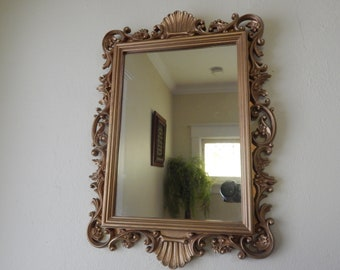 Antique Gold Mirrors Etsy