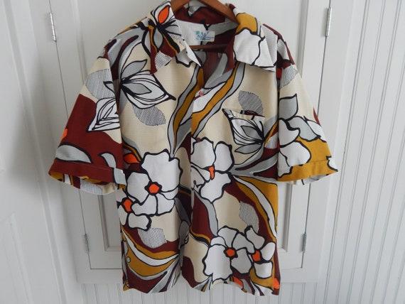Vintage Hawaiian Shirt - Nani Kamaaina Aloha Hawai