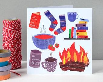 Cosy Winter Greetings Card | Birthday Card | Greetings Card | Birthday | Winter Birthday | Cards for her