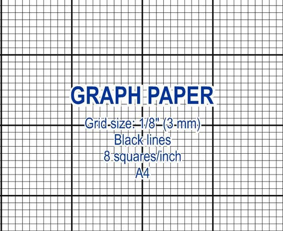 graph paper printable 3 mm grid cross stitch design 8 etsy