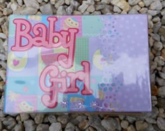Baby brag photo album book