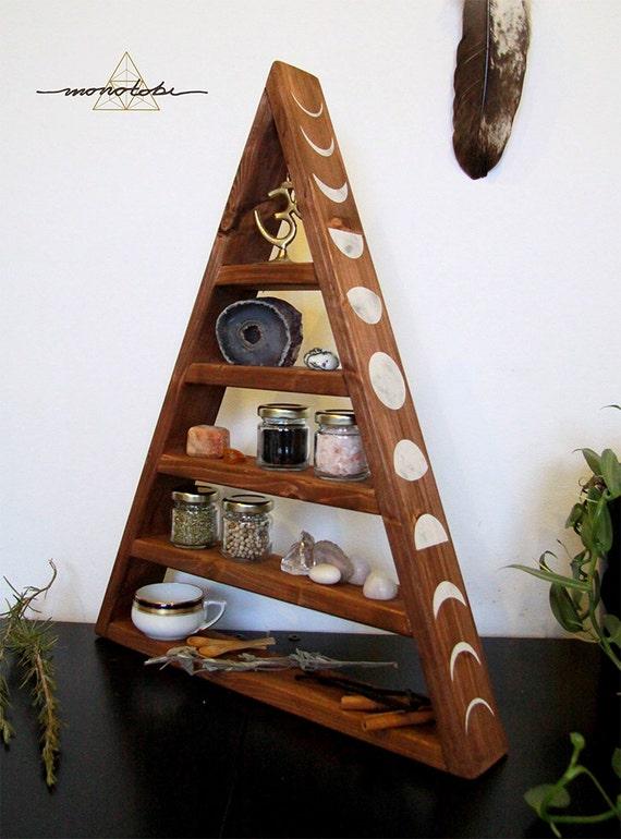 Pyramiden Regal Dreieck Gewürze Küche Kristalle