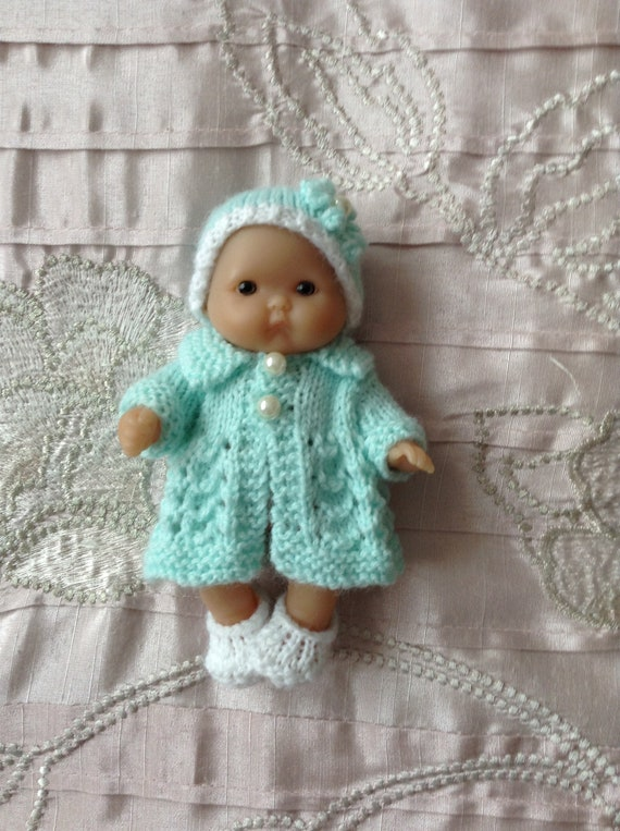 Hand Knitted Dolls Clothes To Fit 5 Berenguer Baby Etsy