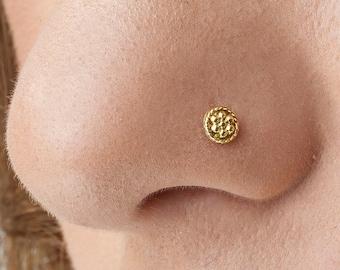 Cork Screw Nose Ring Etsy