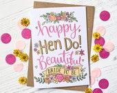 Happy Hen Do - Bride to B...