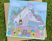 Festival Wedding Card, Ti...