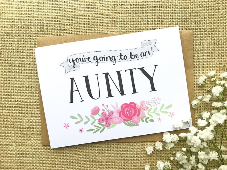 You're going to be an Aunty  pregnancy announcement  image 0