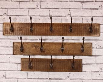 Salvaged Timber Coat Rack