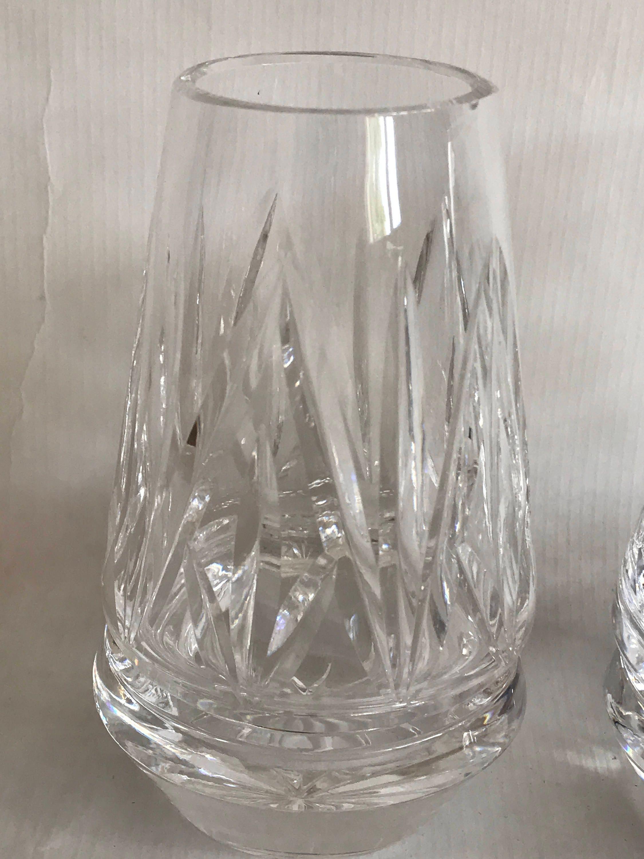 Fine Vintage Waterford Crystal Tea Light Votive Candle Holder