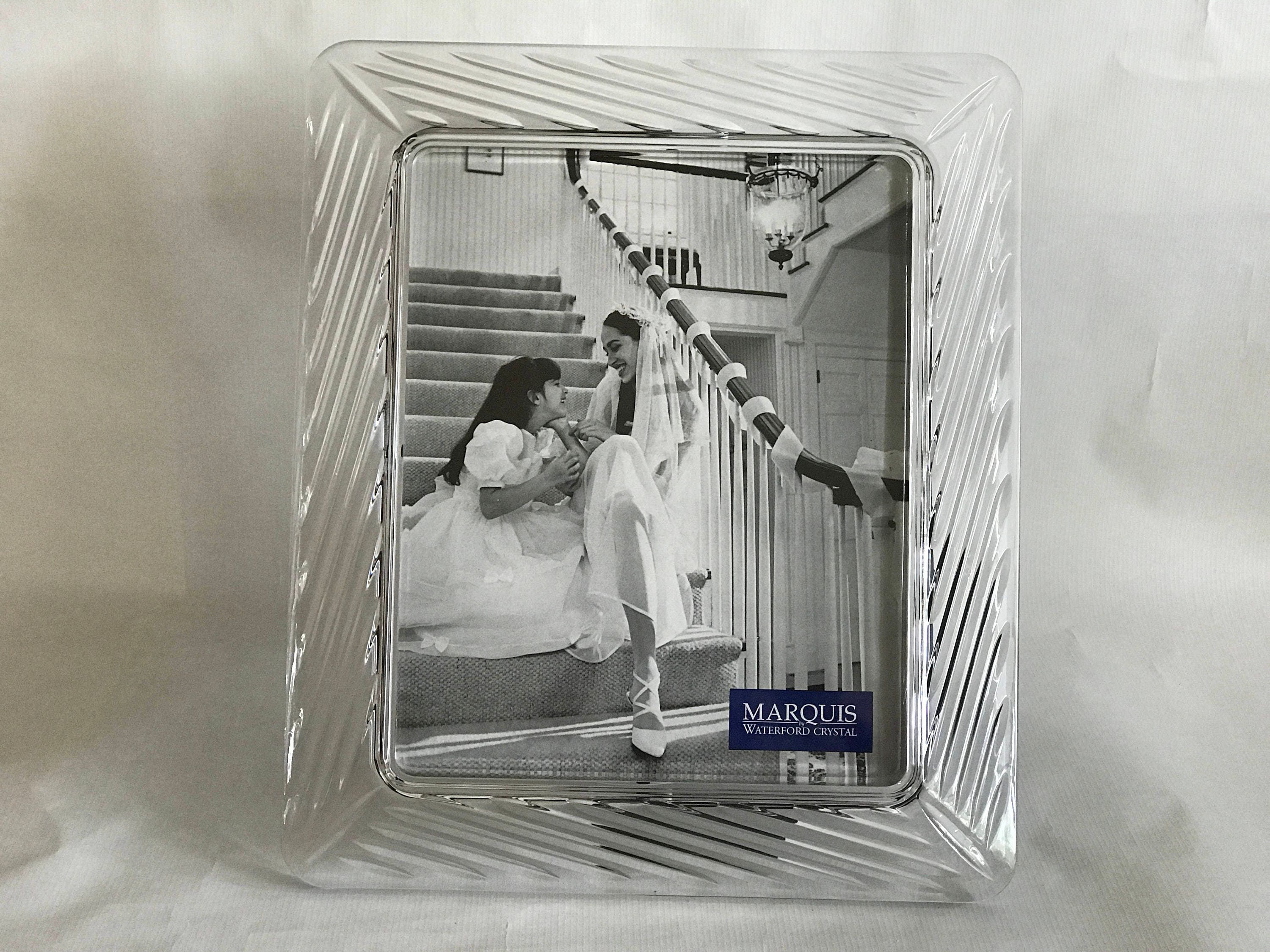 Marquis by Waterford Heavy CRYSTAL PHOTO FRAME, 8 X 10 picture ...