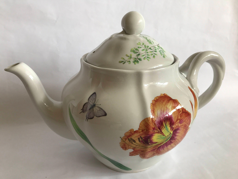 Porcelaine Apilco Grande Cuisine Sonoma Teapot Wwwmiifotoscom