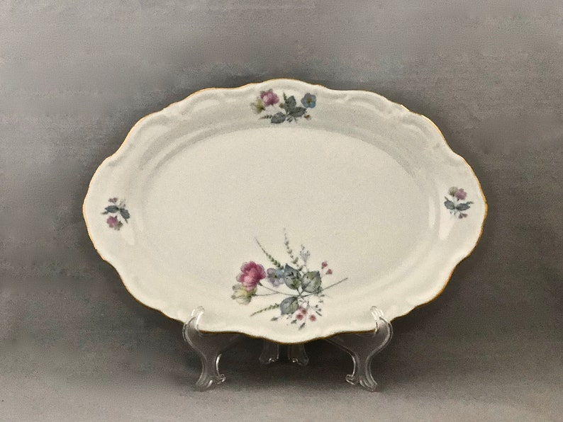 Vintage CHINA PLATTER Bavarian China Winterling 123 Platter image 0