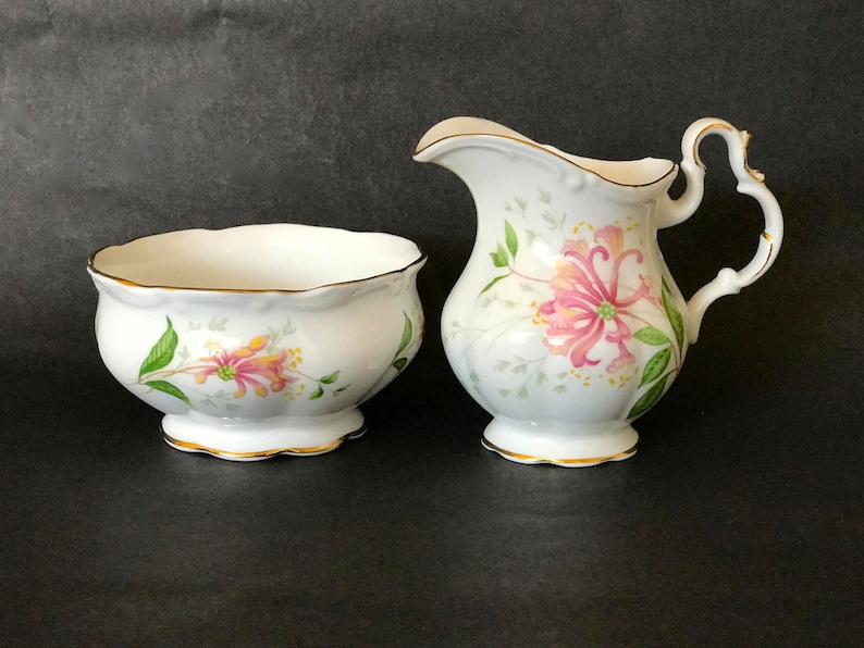 China SUGAR & CREAMER Royal Albert ChinaEnglish Bone image 0