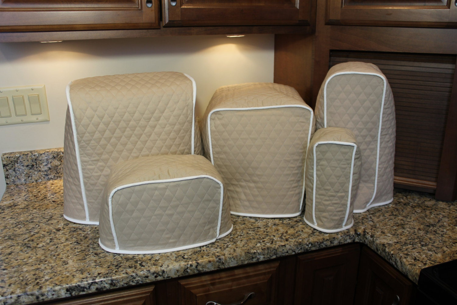 Appliance Cover Sets 600 Color Combos Tan Cream Shown Etsy