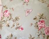 Decorative Pillow, 20x20 Pillow Cover, Sage Cotton Print Pillow, Handmade Throw Pillow by ShabbyChicBeachHouse, Home Decor, Cushion Cover