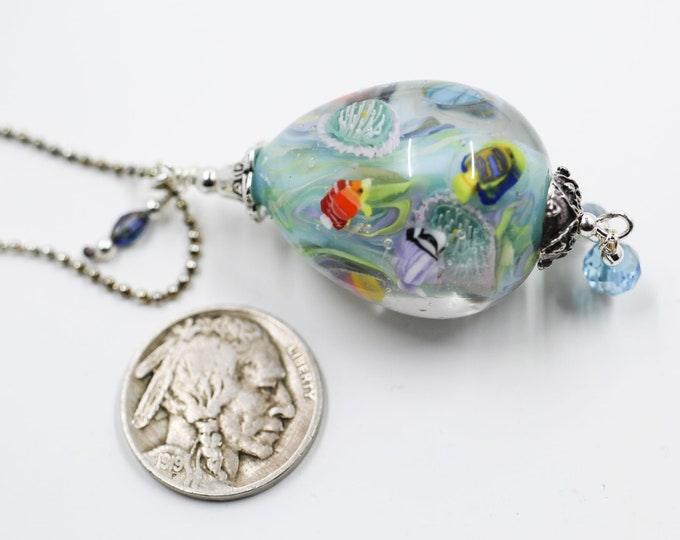 Mermaid Jewelry Underwater Aquarium Bead - Coron Bay