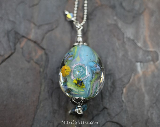 Mermaid Jewelry Underwater Aquarium Bead - Poseidon's Garden