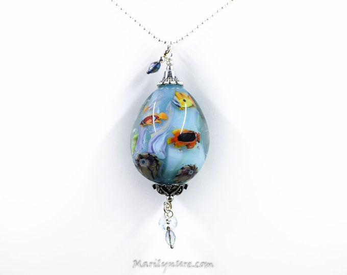 Mermaid Jewelry Underwater Aquarium Bead - Poseidon's Ocean