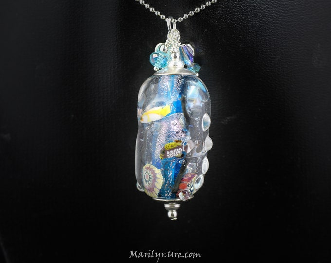 Mermaid Jewelry Underwater Aquarium - Fishy Business